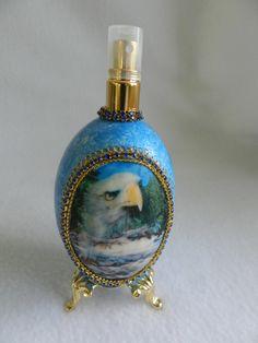 Genuine Goose Egg Perfume Spray Decorated in by JnJHandmadeGifts, $22.00