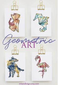 Geometric Drawing, Geometric Wall Art, Geometric Animal, Geometric Prints, Doodle Tattoo, Doodle Art, Tattoo Art, Animal Drawings, Art Drawings