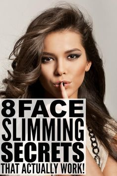 Do you carry your weight in your face? Want to learn how to make your face look thinner without diet or exercise? We've got you covered. We're dishing 8 simple and easy face-slimming beauty secrets to make your face looking thinner instantly, including fabulous makeup products and application tips, hairstyles and highlights, and fabulous accessories to compliment your face shape. These tips have worked wonders for me, especially when it comes to making me look skinnier in pictures!
