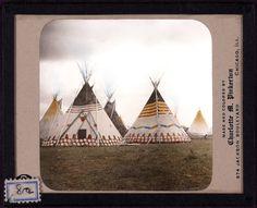 Blackfoot Decorated Tipis c.1900