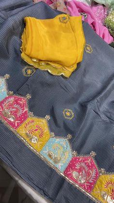 Punjabi Suits Designer Boutique, Boutique Suits, Indian Designer Suits, A Boutique, Embroidery Suits Punjabi, Kurti Embroidery Design, Embroidery Fashion, Punjabi Suit For Ladies, Punjabi Suits Party Wear