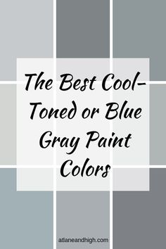 Best Gray Paint Color, Blue Gray Paint Colors, Greige Paint Colors, Wall Paint Colors, Bedroom Paint Colors, Interior Paint Colors, Grey Paint, Neutral Paint, Blue Gray Walls