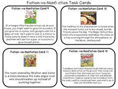 Teaching Fiction and Nonfiction {Free Powerpoint | Fiction ...