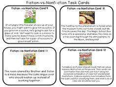18 best Fiction vs nonfiction images on Pinterest | Fiction vs ...