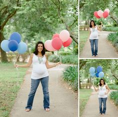 Melissas Gender Reveal Party by Errol Colon - Gender Reveal Balloons, Baby Gender Reveal Party, Gender Party, New Baby Wishes, Baby Gender Announcements, Gender Reveal Pictures, Maternity Photography Poses, Pregnant Wedding, Reveal Parties