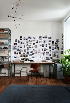photo wall featured in The Kinfolk Home: Interiors for Slow Living. / sfgirlbybay