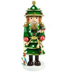 Steinbach Christmas Tree Nutcracker Signed