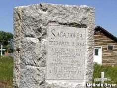 Sacajawea's Grave, Fort Washakie Cemetary, Wind River Reservation, Lander, Wyoming