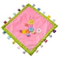 My Sweet Dreams Baby - Personalized Taggie Baby Blanket - Caterpillar (http://www.mysweetdreamsbaby.com/taggieblanket.htm)