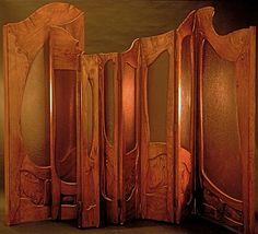 Casa Mila / Cabinet-work / Double screen