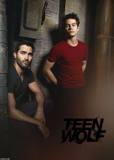 Tyler Hoechlin & Dylan O'Brien #TeenWolf #Season3B