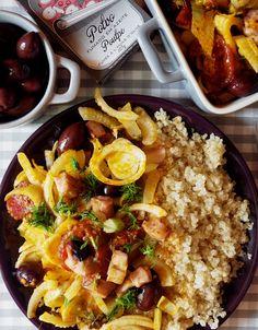 Quinoa Raz!: Quinoa z fenkułem i ośmiornicą