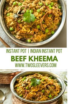This Instant Pot Keto Indian Kheema recipe is an easy family-friendly keto dish that's gluten-free, keto, paleo and done in under 30 minutes. Indian Instant Pot | Ground beef recipe| Keto Indian recipe| Low carb ground beef recipe| Easy kheema recipe| Indian Ground beef recipe| Pakistani Beef Recipe| Pakistani Qeema recipe| via @twosleevers