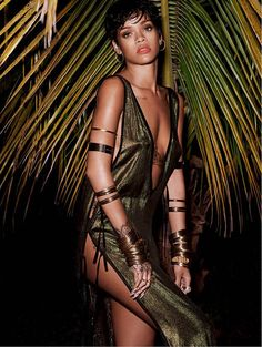 Rihanna by Mariano Vivanco for VOGUE Brazil