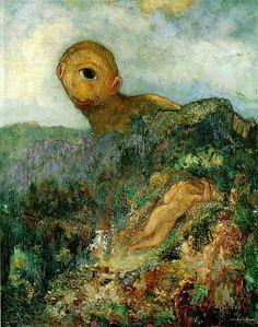Odilon Redon, le cyclope, 1914, otterlo