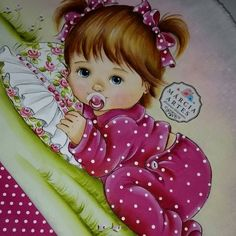 Pintura: Marcia Sueli Medeiros Cute Baby Drawings, Baby Shower Labels, Cute Cat Wallpaper, Cute Kids, Cute Babies, Boy Drawing, Cross Stitch Borders, Decoupage Paper, Baby Cartoon