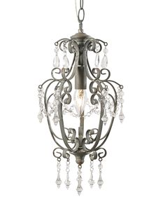 Small Juliet Chandelier - Grey