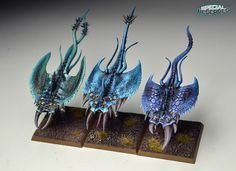 Warhammer Fantasy Daemons Of Chaos Screamers of Tzeentch | Flickr - Photo Sharing!