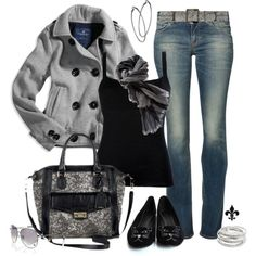 """Shades of Black"" by hatsgaloore on Polyvore"