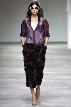 Dries Van Noten Spring 2013 Ready-to-Wear Collection Slideshow on Vogue.com