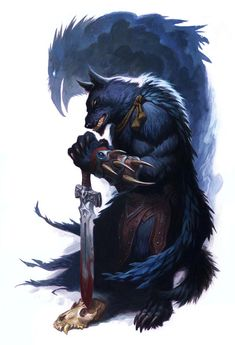 Silverfangs    As I alluded to with my Werewolf:The Apocalypse 20th Anniversary post over on my Draw-Blog , Here are some of the final po...
