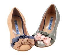 Le Bunny Bleu Juliet's Dream Ballet Flats