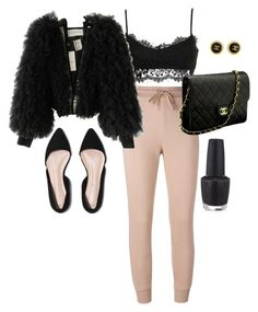 """""""Untitled #369"""" by katiemarte ❤ liked on Polyvore featuring T By Alexander Wang, Viktor & Rolf, Chanel and OPI"""