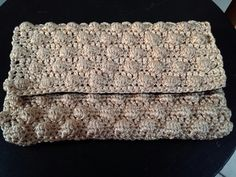 Crochet bag bobble stitch