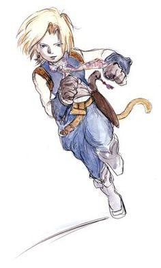 Final Fantasy Ix, Final Fantasy Characters, Yoshitaka Amano, Victory Pose, People Of The World, Finals, Concept Art, Fandom, Gallery