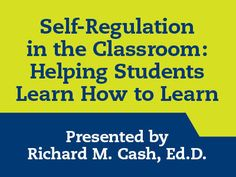 In this webinar, Dr. Richard Cash, Ed.D. discusses doable, evidence-based practices to help students engage in learning, build confidence, set and manage goals, develop habits of thinking, do effective home study, and reflect on their learning.