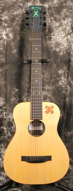 2015 Martin Ed Sheeran X Signature Edition Acoustic Electric Guitar w/Gigbag