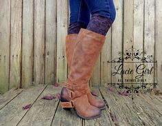 Pure Lace Boot Cuffs – Lacie Girl