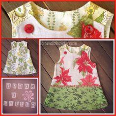 Handmade by dream a little. Christmas pinny!
