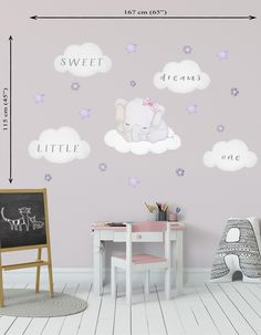 20 Best Elephant Nursery Wall Decals