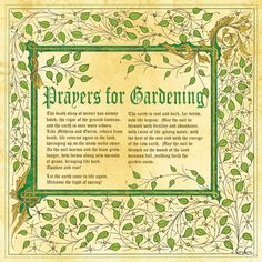 Book of Shadow, Pagan Prayers for Gardening Pg 2 by *Brightstone on deviantART