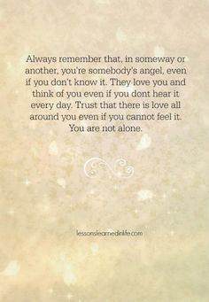Lessons Learned in Life | Always remember.
