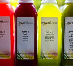 Pressed juicery - fresh local juices delivered to your door each week (Los Angeles)