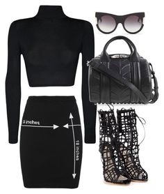 """Untitled #1348"" by stylebyteajaye ❤ liked on Polyvore featuring Moschino, WearAll, STELLA McCARTNEY, Alexander Wang and Sophia Webster"