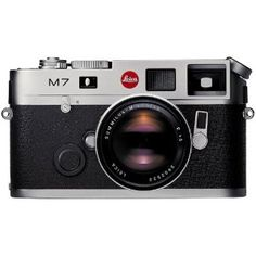 Leica M7.  Old school but still the best.