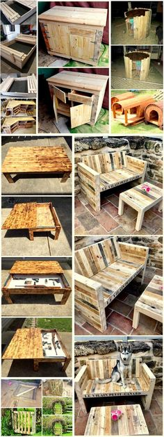 few pallet wooden ideas