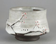 Very special Yunomi by Paul Fryman. Dark clay, white crackle glaze. The glaze is pleasant for the touch, feels slightly velvet. Created in a wabi-sabi aesthetic way by Ukrainian ceramic artist. Wheel thrown, glazed and wood fired at Pottery Park studio Kiln in 2017. width 9cm height 6.3cm volume