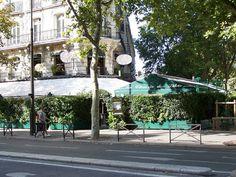 View of the brasseri