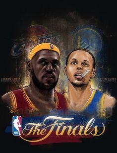 Lebron James Vs Stephen Curry NBA Finals
