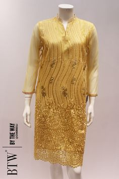 100203 Gold Prêt Shirt - BTW Eid-ul-Adha Collection 2016