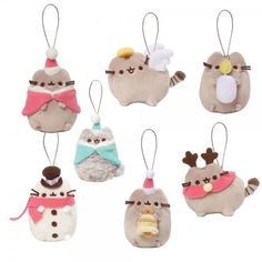 Jan's Bear Essentials - Gund - Pusheen Blind Box Ornament Series #5