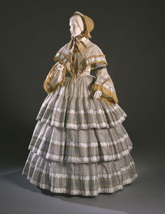 Day Dress 1855 The Philadelphia Museum of Art