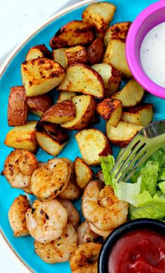 Grilled Shrimp & Roasted Red Potatoes! – Simply Taralynn