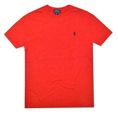 Polo Ralph Lauren Boys Crew Neck Pony Logo T-shirt (XL(18...