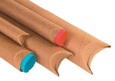 Crimped End Mailing Tubes! Shrink Film, Shipping Supplies, Rolling Pin, Tube