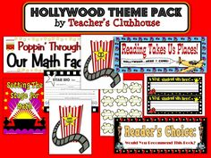 Hollywood Theme Classroom   Teaching Maddeness*: Friday Flashback: Shout-Out, Themes, & a ...